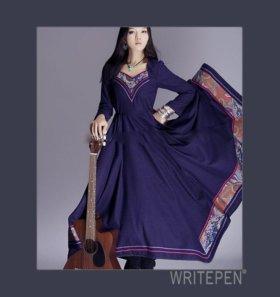 Платье в стиле Бохо.