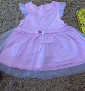 Платье размер 74