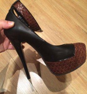Туфли 15 см каблук 37 размер