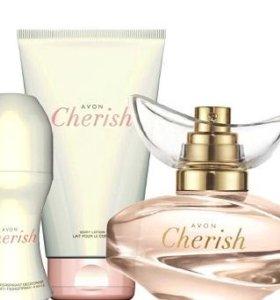 Avon Cherish парфюмерный набор