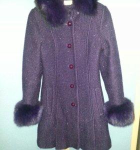 Пальто 40% шерсти, размер 42-44