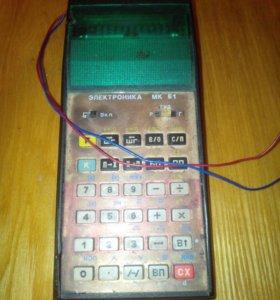 Программируемый калькулятор мк 61