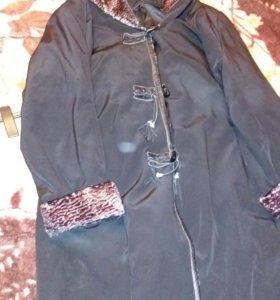 Пальто куртка женская размер 60.