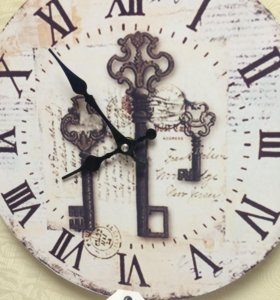 Часы для декора