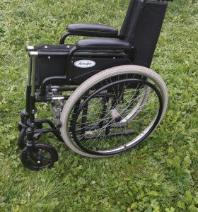 Складная инвалидная кресло коляска