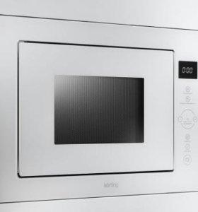 Встраиваемая микроволновая печь белая