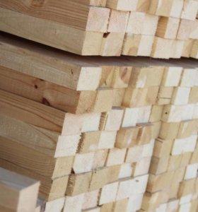 Брусок, штакетник деревянный из  сосны