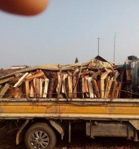 Продам дрова колотые 4000,чурками грузовик 5500