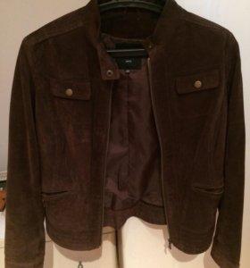 Куртка из натуральной замши р. 48