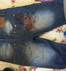 Шорты джинсовые 42-44р