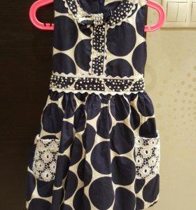 Детские вещи  Платье для девочки 3-4 года