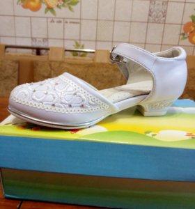 Детские туфельки 23 размер