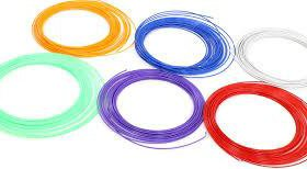 14 цветов АВС пластика для 3D ручки