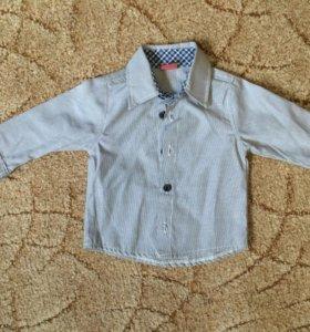 Рубашка 68-74см