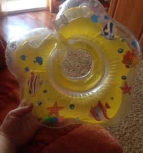 Круг и горка для купания ребёнка
