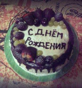 Изготовление тортов, капкейков, пирожных