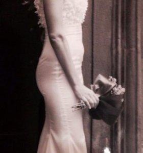 Свадебное (вечернее платье)