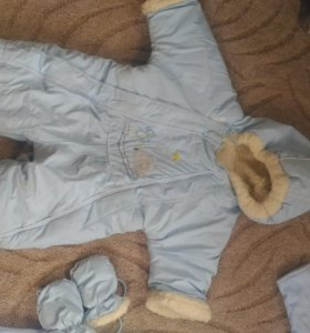 Зимний Комбенизон и костюм