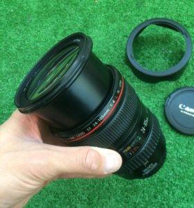 Canon 24-105 объектив