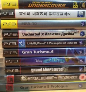 Игры на PlayStation 3
