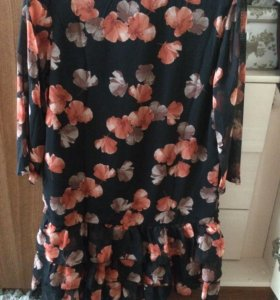 Платье из шифона бонприкс