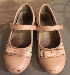Туфли кожаные 29 р-р