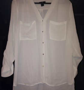 Белая блузка H&M