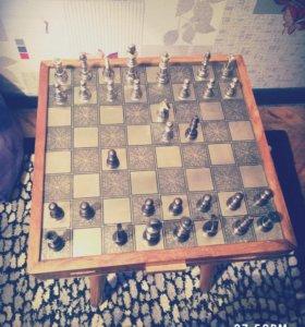 Шахматы металические