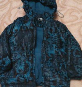 Куртка демисезонная (98-104)рост от 2-4 лет.