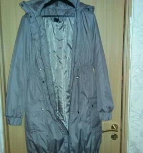 Пальто осень-весна  для беременных.