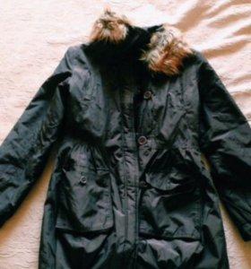 Пальто осенне-зимнее marks and spencer