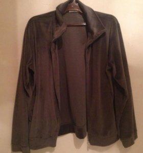 Велюр куртка
