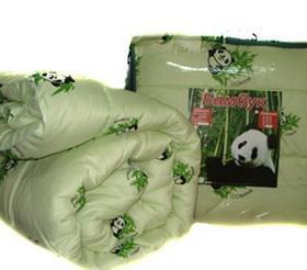 Двуспальное зимнее одеяло бамбук.