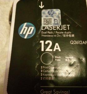 Картриджи HP LaserJet 12A