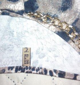 Платье леопардовое (р 42-44).
