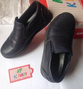 Туфли детские кожаные. б/у как новые
