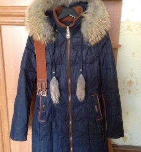 Пальто осень-зима для девочки-подростка 13-15 лет