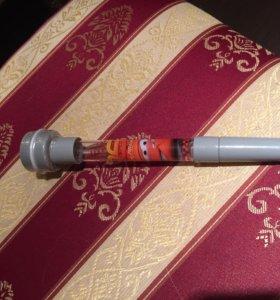 Ручка с печатью и пузырями