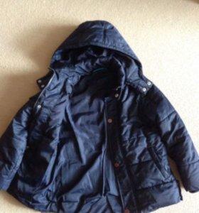 Демисезонная куртка 134 размера