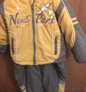 Куртка+комбинезон ! Демисезонные на мальчика!