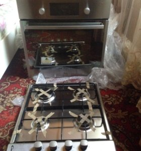 Элктро-газовая плита