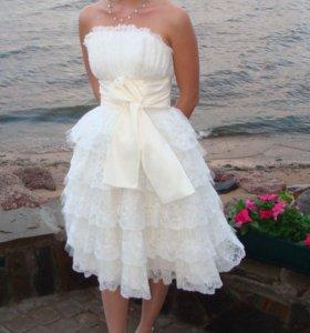 Свадебное платье Выпускное платье
