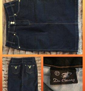Юбка джинсовая 44 (S)