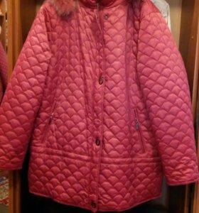Зимняя куртка женская новая 56-58р.