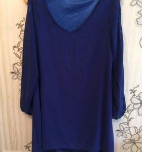 Новое шифоновое пляжное платье