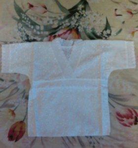 Новая рубашечка для крестин