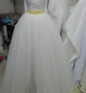 Трансформер.Свадебное платье 2в1