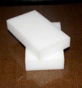 Меламиновые чудо губки белые