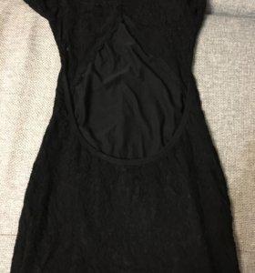Новое кружевное платье с этикеткой р 40
