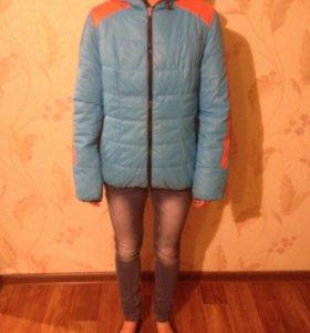 Куртка осень двусторонняя